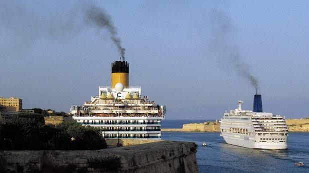 Cruise Ships Using Heavy Fuel Oil Are Harming The Environment - How heavy is a cruise ship