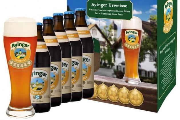 Ayinger Bavarian beer now in Malta