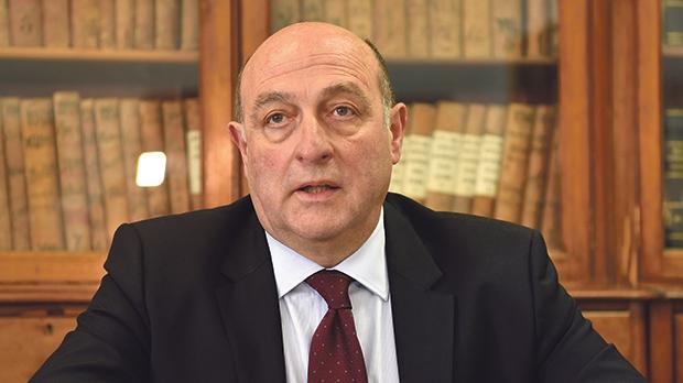 George Hyzler, Malta's first Commissioner for Standards. Photo:Mark Zammit Cordina