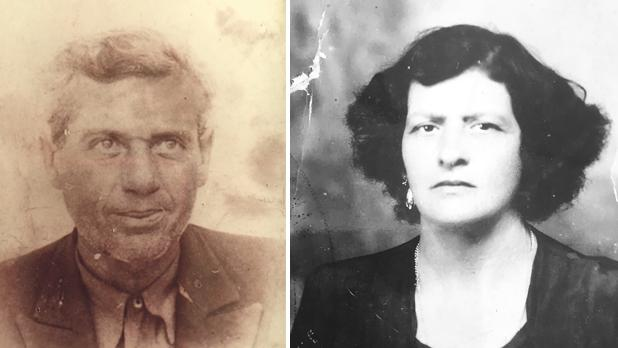 "Jane's mother, Carmela ""Carrie"" Spiteri, c. 1950, and her father, Dominic, c. 1939. Photos provided by Amber Sprunt"