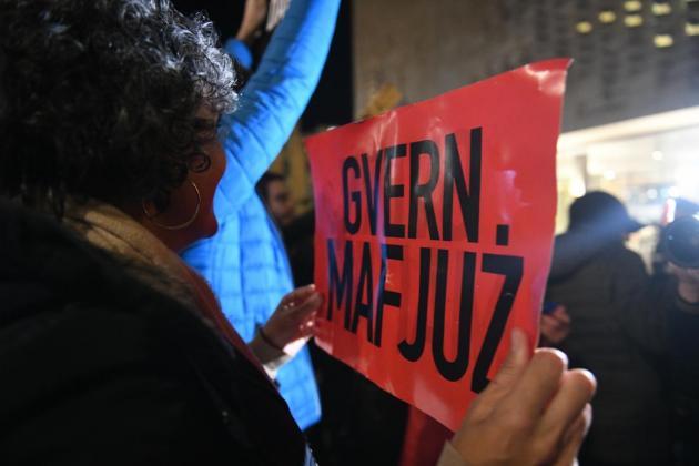 Repubblika designates itself an 'anti-mafia' organisation