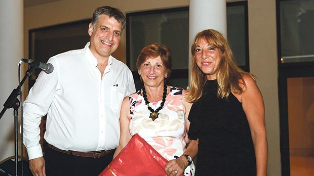 Maltese Diabetes Association president Chris Delicata, Anna Zammit McKeon and vice president Moira Grixti. Photo: F. Micallef of Photocity Digital Service, Valletta.