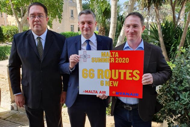 Malta Air launches six new routes from Malta