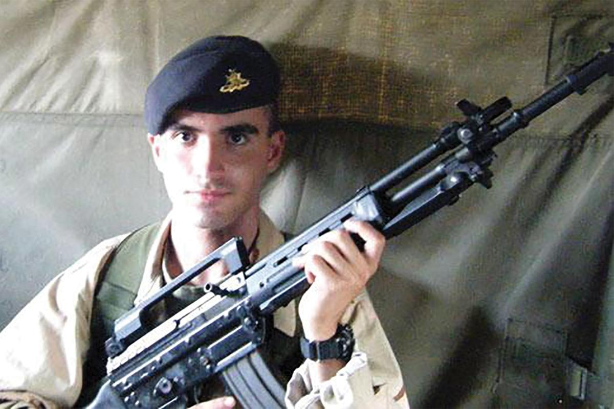 Matthew Psaila lived for the army.