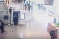 Watch: Footage shows man grabbing soldier in Paris airport
