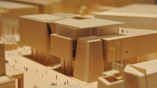 A model of the new parliament