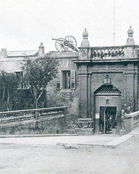 The Ospozio in Floriana, which housed the women's prison until 1895.