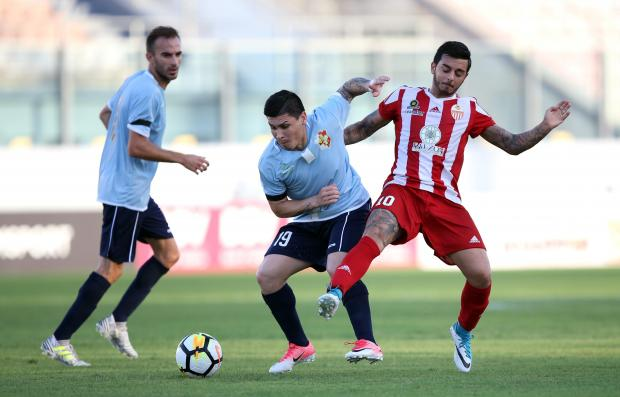 Naxxar picked up two points from their last two matches.