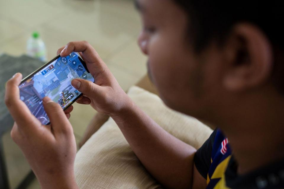 Adding to selling pressure were concerns that China had the online gaming sector in its crosshairs next. Photo: Mohd Rasfan / AFP