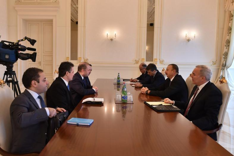 A Maltese delegation led by Joseph Muscat meets with Azerbaijan's president Ilhan Aliyev, in a visit to Baku which the press was not invited to attend.