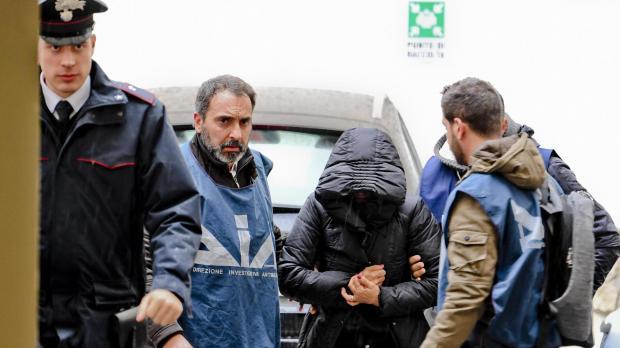 Women arrested in Naples on suspicion of involvement with city's mafia