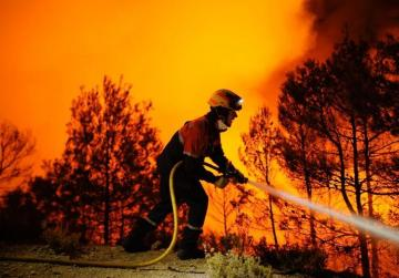 Northern Spain hit with 50 fires, some deliberately set