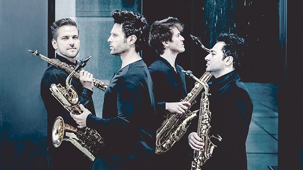 Signum Saxophone Quartet. Photo: Andrej Grilc