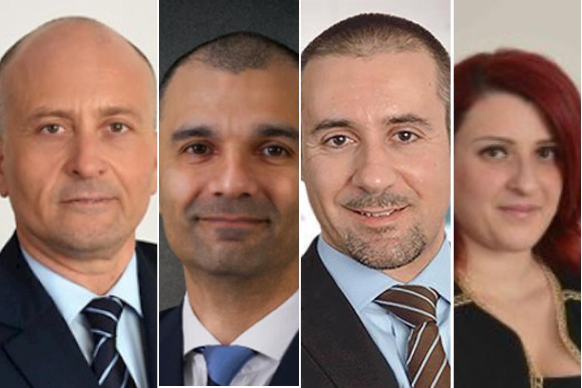 Nexia BT consultants (l-r): Managing partner Brian Tonna, Manuel Castagna, Karl Cini, Katrin Carter Bondin