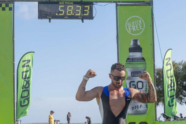 Julian Harding sets Sprint record for a second time