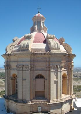 Mdina church dome