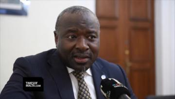 Malta urged to keep a better look-out for tsunamis | Comprehensive Nuclear-Test-Ban Treaty Organization executive secretary Lassina Zerbo. Video: Matthew Mirabelli