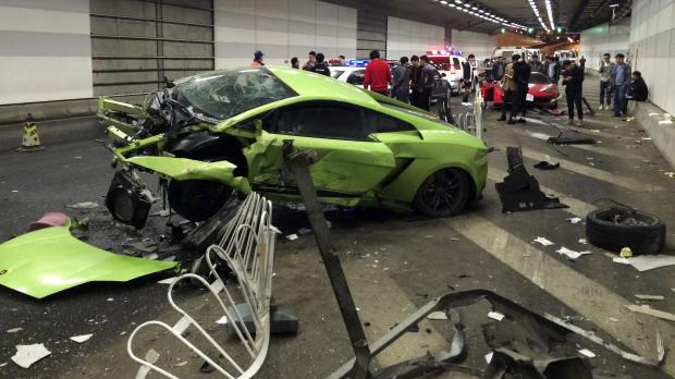 two jailed over supercar crash. Black Bedroom Furniture Sets. Home Design Ideas