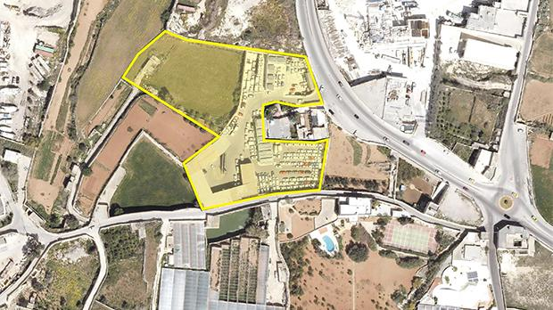 An application for a car park extension was made for this site in Tal-Balal.