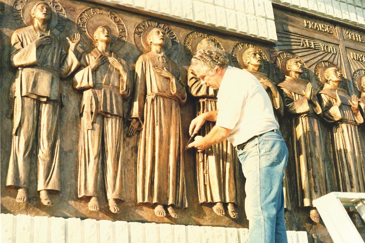 Detail - Canada Monument