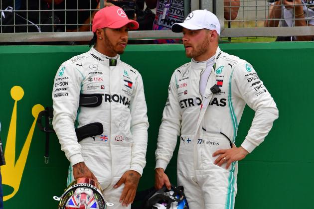 Updated: Bottas takes pole as Mercedes lock out front row