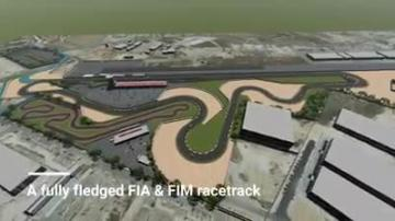 Architects' firm proposes motorsport racetrack in Ħal Far | Video: Periti Studio