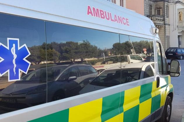 Motorcyclist injured in St Julian's accident