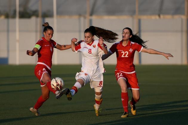 Quick-fire goals earn Montenegro win over Malta women