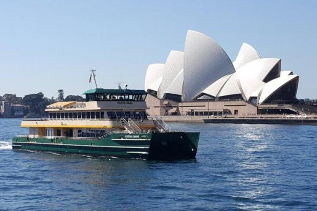 The Victor Chang ferry.
