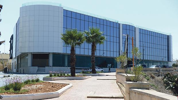 The new premises in Żejtun earmarked to host the new Registry of Companies Agency.