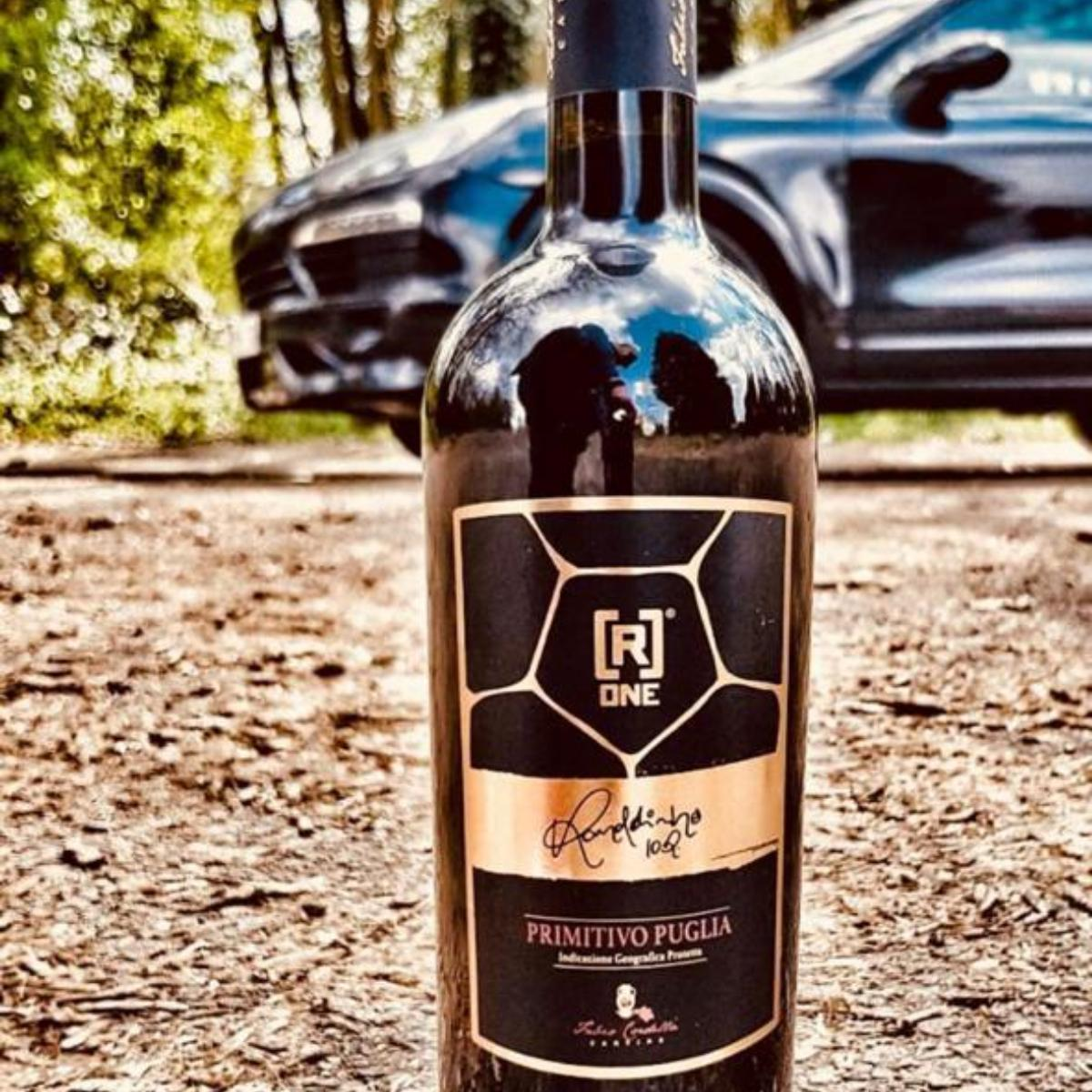 The wine that Ronaldinho plans to promote during his Malta visit