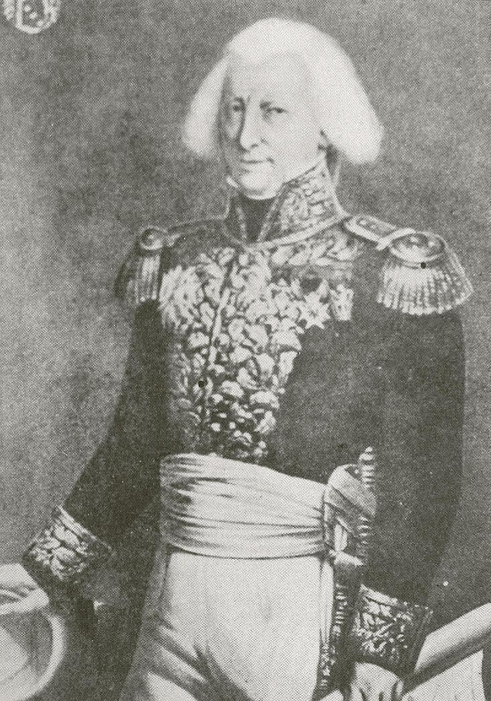 General Claude-Henri Vaubois, the French military governor of Malta.