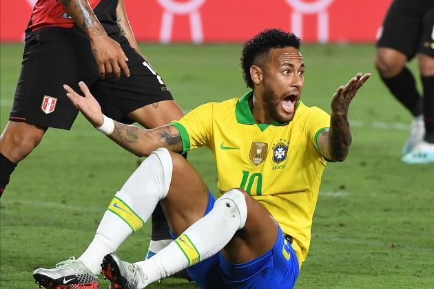 Watch: Abram strikes late as Peru down Brazil