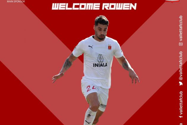 Rowen Muscat returns to Valletta FC after signing two-year contract