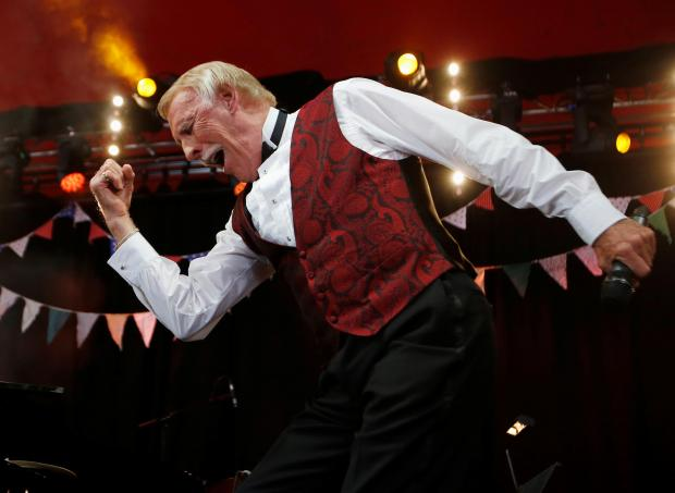 Sir Bruce performing at Glastonbury Festival. Photo: Reuters
