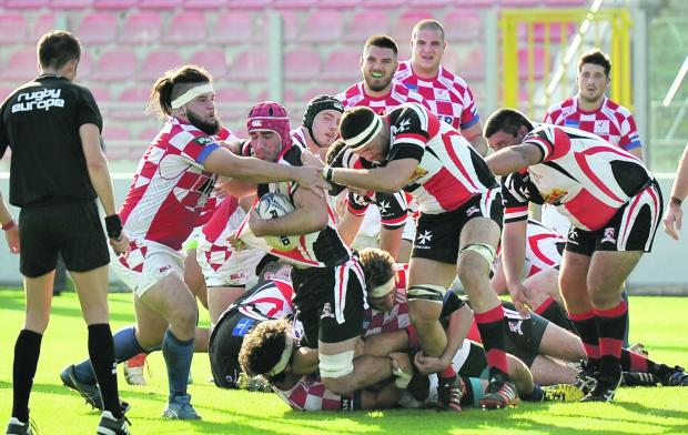 Malta rugby dig deep into their reserves to overcome Israel in Netanya.