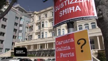Police spotted at Pilatus Bank, as activists demand MFSA action by noon