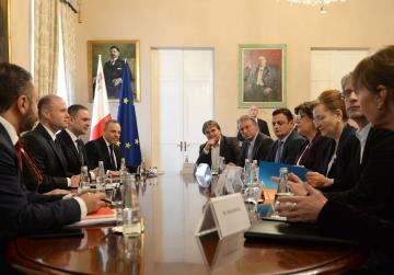 Rule of law MEP delegation to make another Malta visit