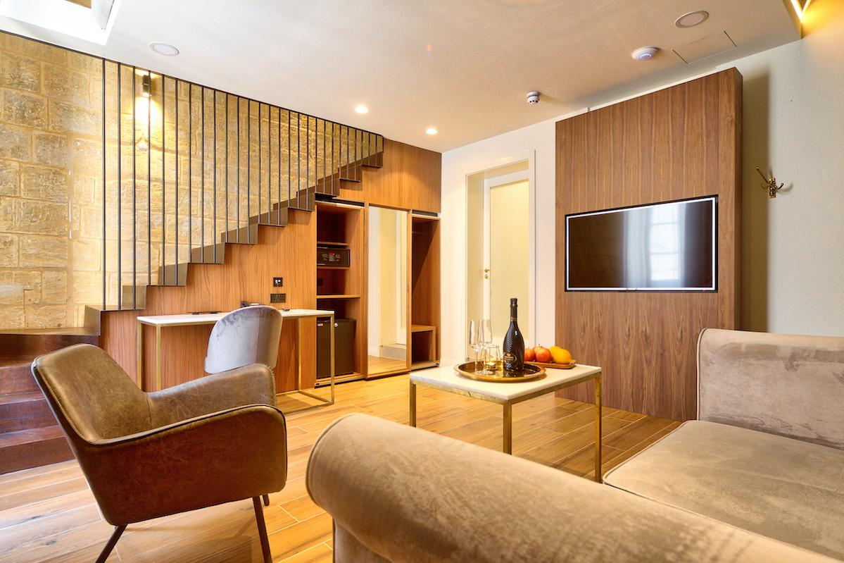 Boutique hotel interior design.