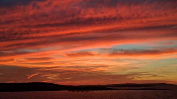 Beautiful sunset. Photo: Rebecca Vella