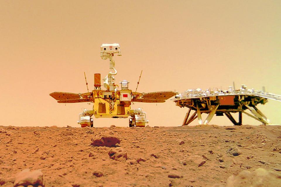 Foto: Administración Nacional del Espacio de China (CNSA) / AFP