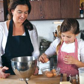 With the right supervision, there is no reason why children can't enjoy helping out in the kitchen.