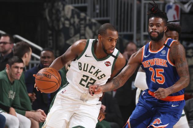 Watch: Antetokounmpo shows no mercy as Bucks rout Knicks, Jazz win 10th straight