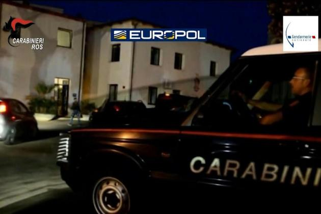 Huge French-Italian police raid nets 46 mafia arrests