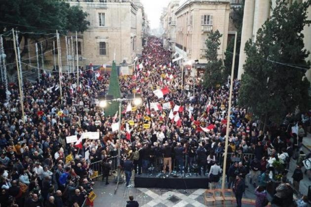 Another national protest in Valletta on Sunday