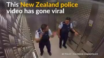 New Zealand police jam session goes viral