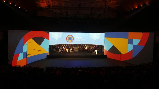 The 2015 CHOGM opening ceremony. Photo: Darrin Zammit Lupi