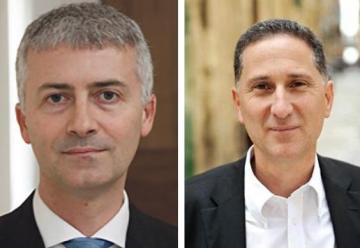 Lawyers Aron Mifsud Bonnici and Peter Fenech.