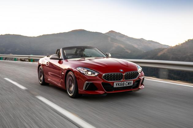BMW Z4 M40i is a soft-top with added edge