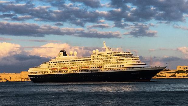 Cruiseliner. Photo: Adrian Farrugia